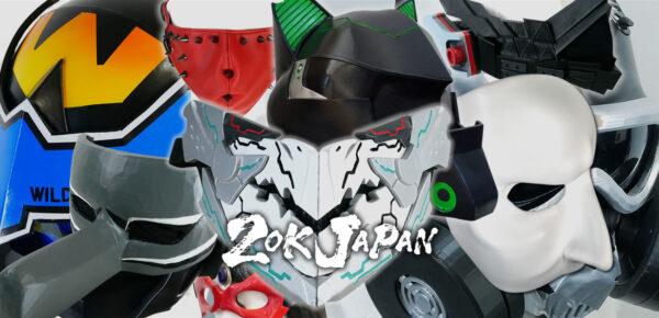 コスプレ用マスク類は3Dプリンター造形等で作ります